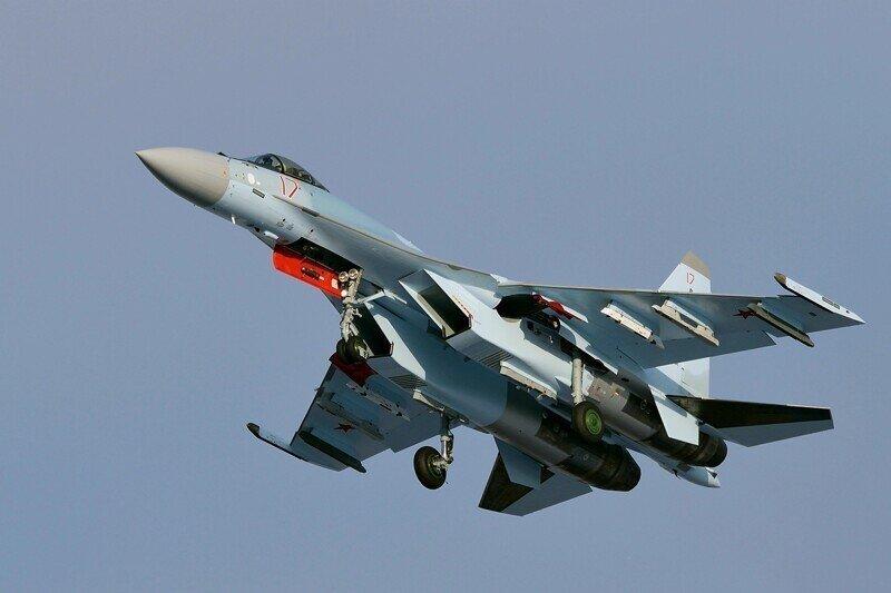 Разбился истребитель Су-35 на Сахалине