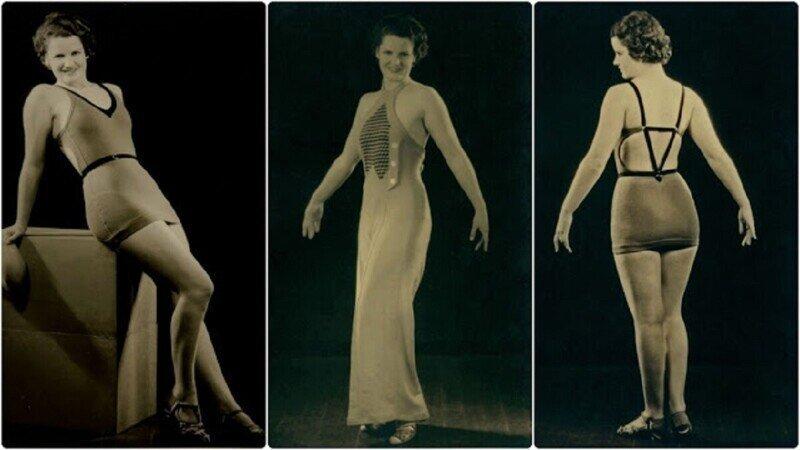 Женские купальники 1930-х годов