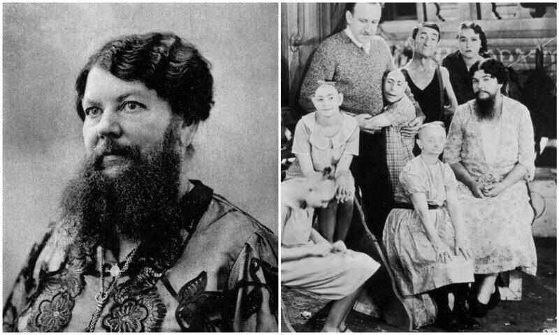 """Известные в истории """"бородатые женщины"""""""