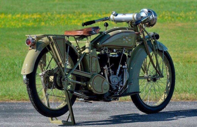 Быстрый и надёжный мотоцикл начала прошлого века: «Большой Икс» с литровым мотором
