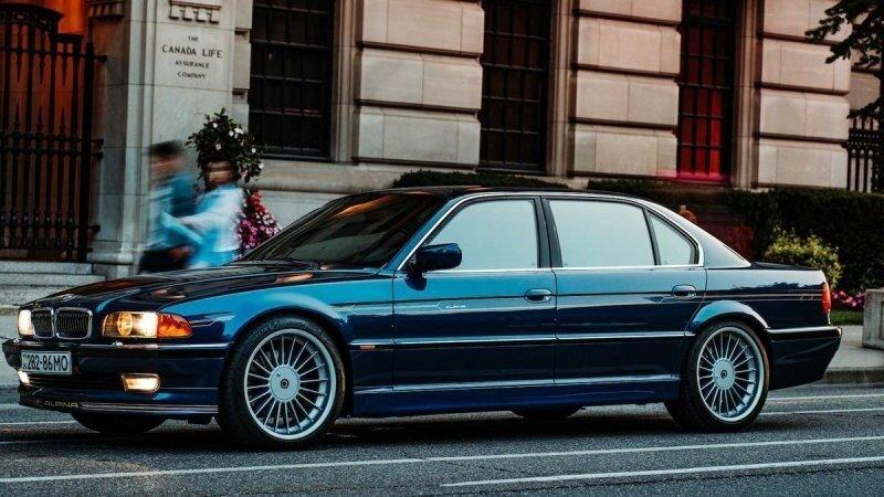 Редкая Alpina B12 1998 года поступила в продажу, и она просто идеальна