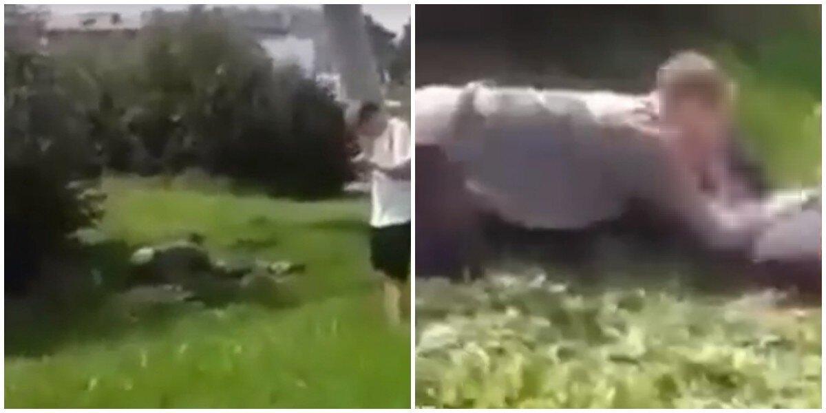 Двое мужчин в Нижнем Тагиле предались любовным утехам на улице