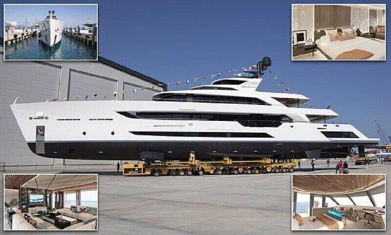 В Турции спущена на воду самая длинная суперъяхта вместимостью менее 500 тонн