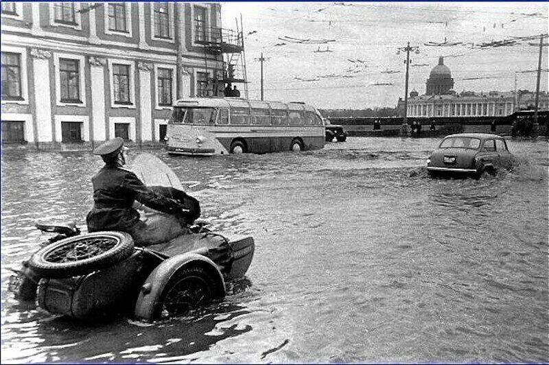Прогулка по Ленинграду 1967 года