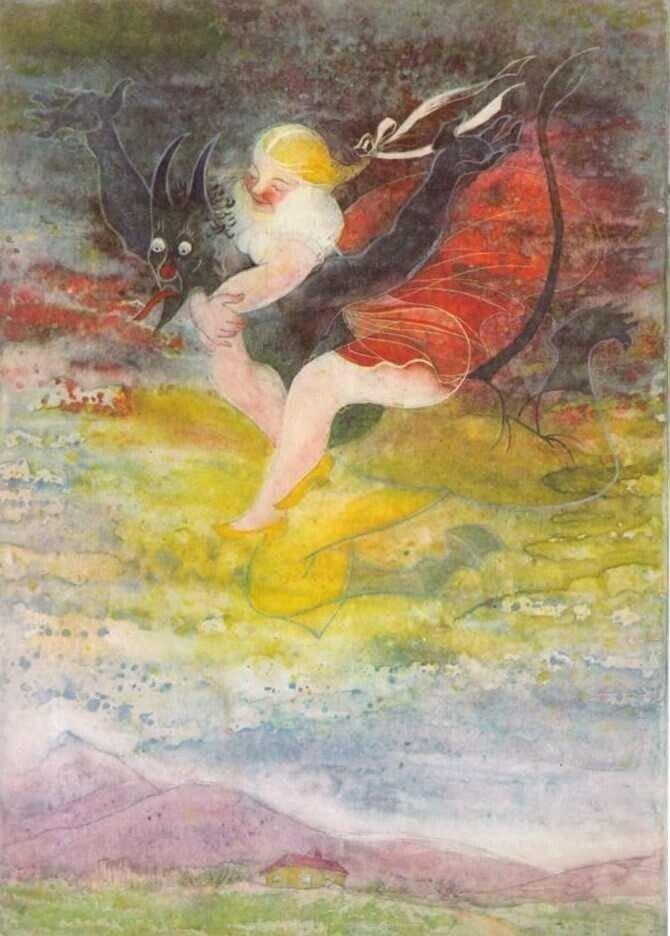«Черт и Кача», чешская сказка