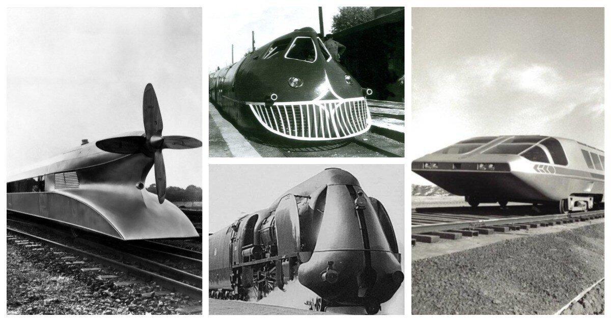 20 поездов как из фантастических книг, которые поразят ваше воображение