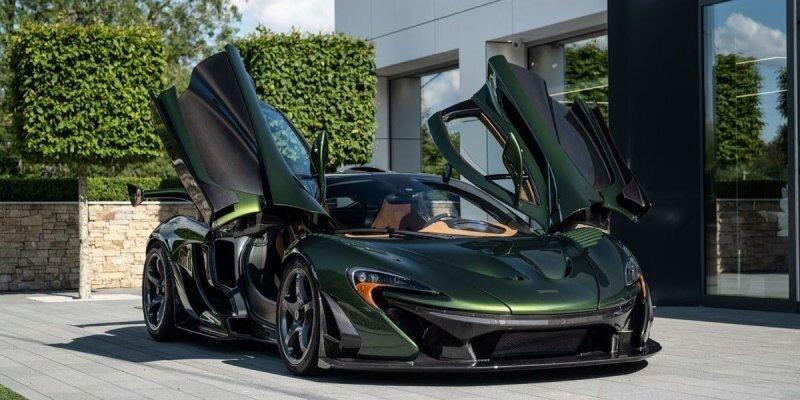 Британское ателье Lanzante выпустило особенный McLaren P1 HDK