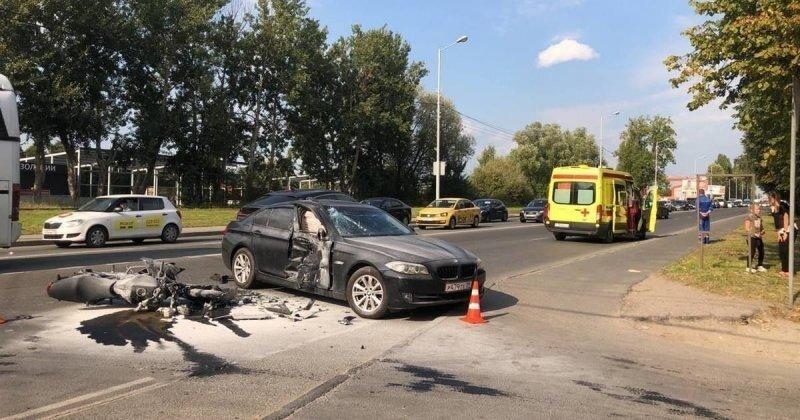 Авария дня. Смертельное ДТП с мотоциклистом в Калининграде