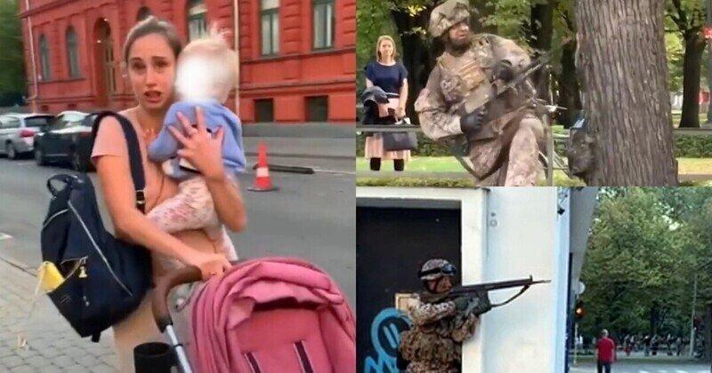 """""""Это комично, жалко или глупо?"""": латыши раскритиковали стрельбу, устроенную военными в центре Риги"""