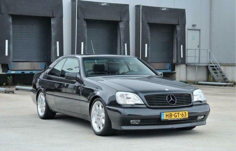 Редчайшее купе Brabus 6.9 V12 выставлено на продажу в Нидерландах
