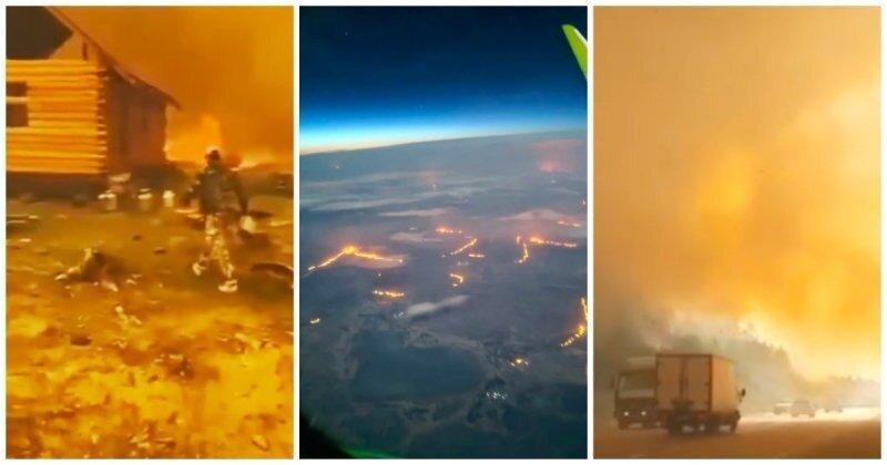 Рекордная жара и рекордные пожары: чего ждать дальше