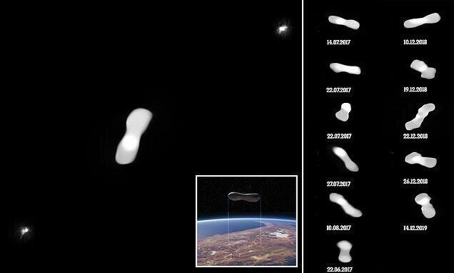 Астрономы сделали зрелищные снимки астероида Клеопатра
