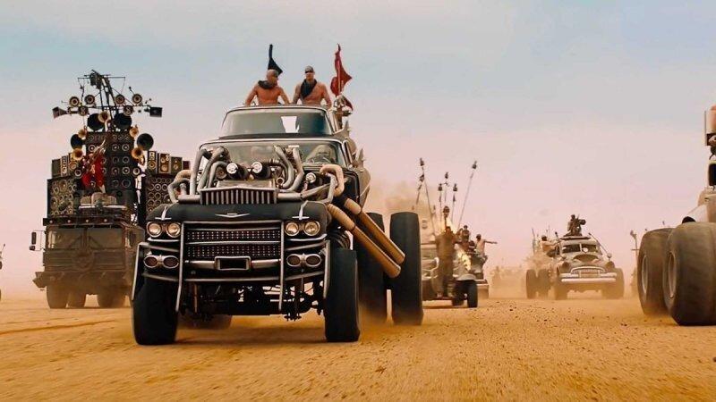 13 машин из фильма «Безумный Макс: Дорога ярости» отправляются на аукцион