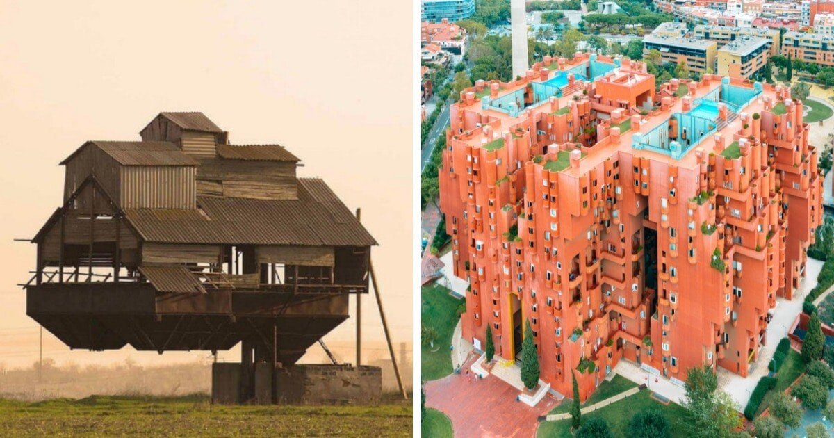 16 удивительных и странных строений со всего света