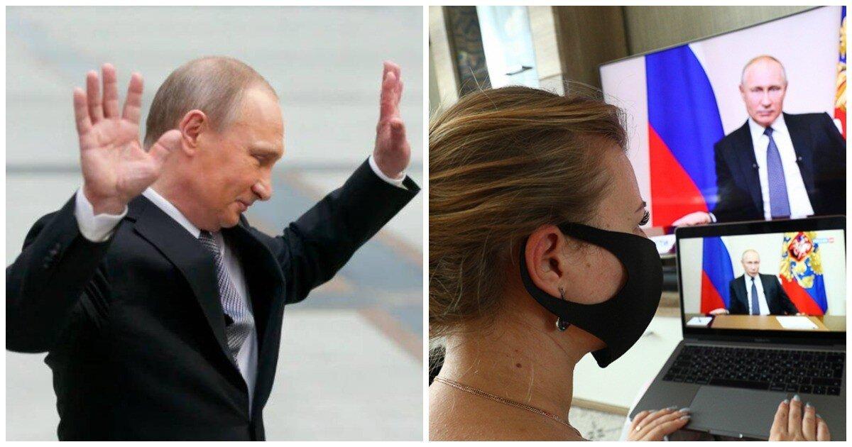 Владимир Путин ушел на самоизоляцию из-за ситуации с ковидом в его ближнем окружении