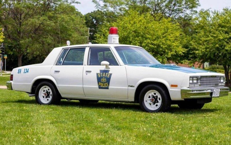 На чем ездили копы в восьмидесятых: Chevrolet Malibu пенсильванской полиции