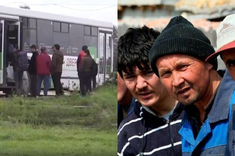После народного схода мигрантов выселили из общежития в Бужаниново, но проблема осталась