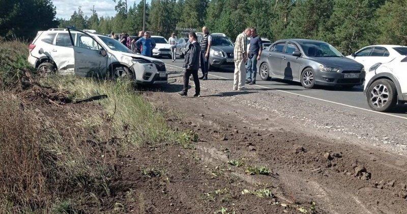 Авария дня. Мать и двое детей пострадали в Нижегородской области