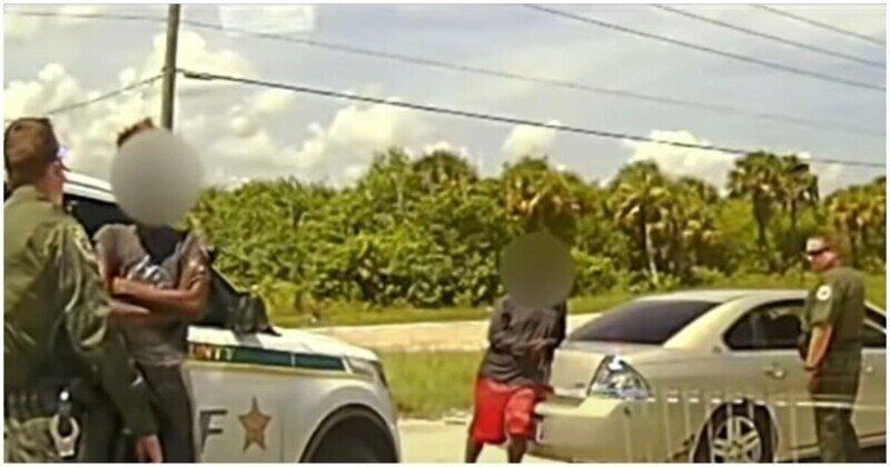 Дерзкое нападение на  помощников шерифа в США