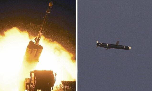 Северная Корея провела испытания новых крылатых ракет в Японском море