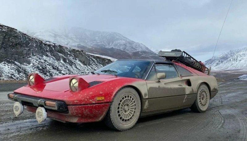 Американец приспособил Ferrari 308 GTB для путешествий и колесит по штатам
