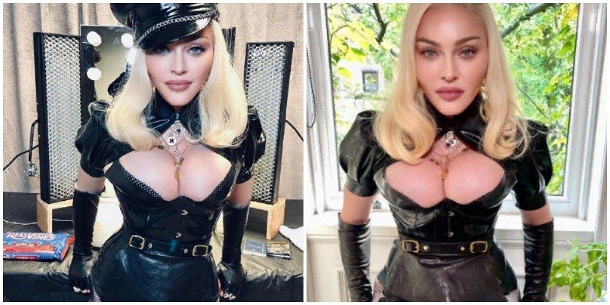 Телеканал MTV случайно показал истинное лицо Мадонны и взбесил её фанатов