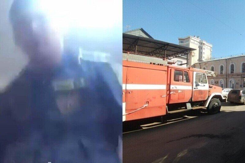 """""""Б***!Б***!Б***!"""": будничный диалог начальника пожарной части с подчиненным попал на видео"""