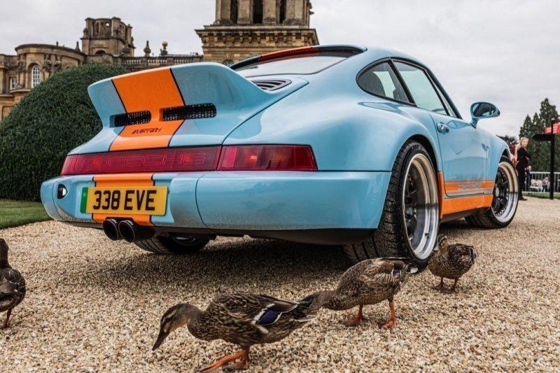 Porsche Gulf Signature Edition от Everrati — 500 электрических «лошадей»