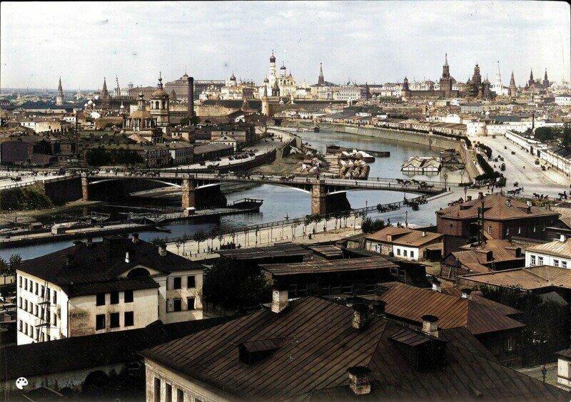 Цветные фотографии Москвы, жизнь улиц и архитектура 1860-1899гг. 3ч
