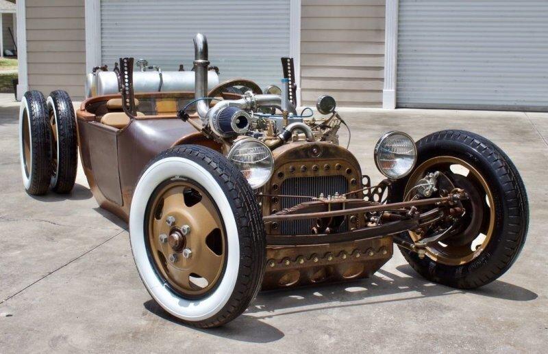 Старинный Dodge 1918 года превратили в великолепный хот-род