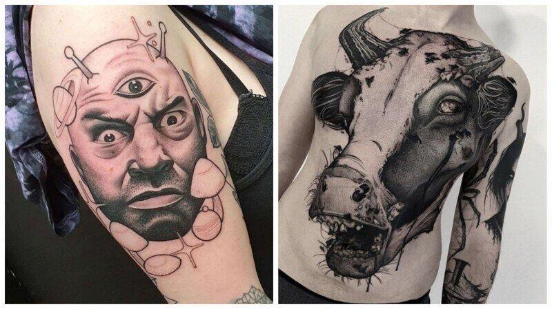 27 татуировок, которые не спасает даже техника исполнения