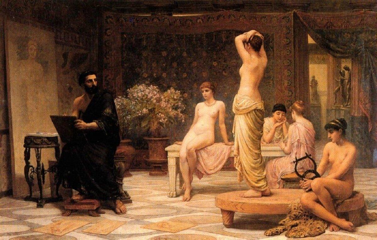 Блудницы в Древней Греции