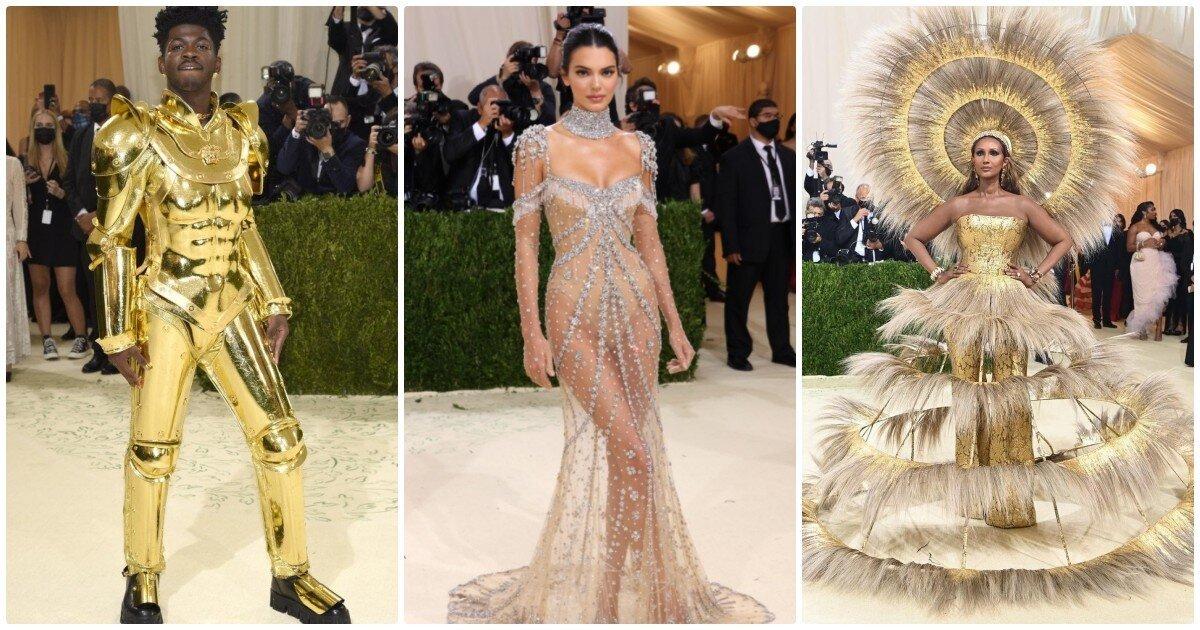Женственная Билли Айлиш, Ким Кардашьян в носке и другие эксцентричные наряды звезд на Met Gala 2021