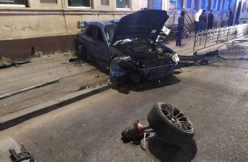 Авария дня. Ночное столкновение в центре Иркутска