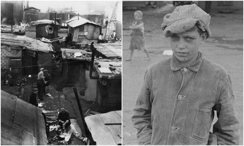 Гувервилль: как выглядела жизнь в трущобах Великой депрессии