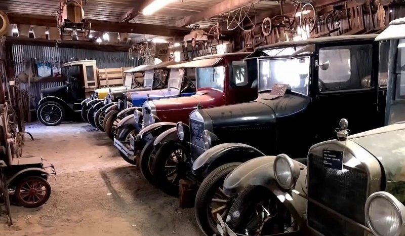 Калифорнийский сарай скрывает самый большой в мире тайник с классическими Ford Model A и Model T