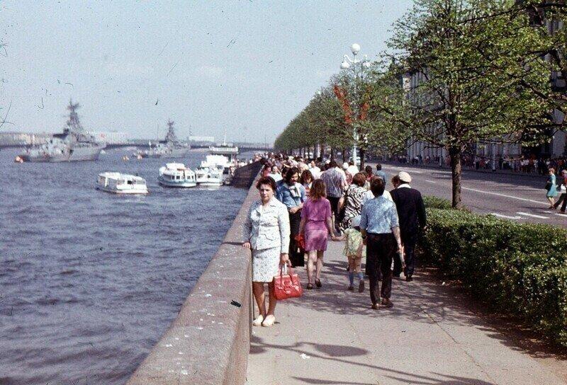 Прогулка по Ленинграду 1974 года
