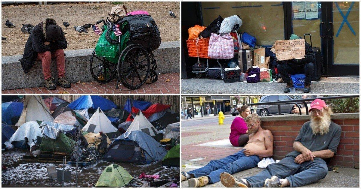 Героиновые гетто, страшные земли, бездомные кошмары и прочие ужасы улиц США