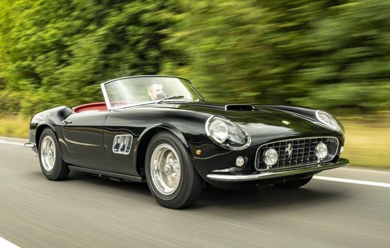 Компания GTO Engineering представляет новое возрождение классического Ferrari California Spyder