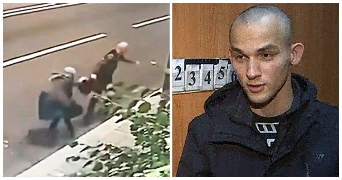 Горе-грабитель не смог вырвать сумочку из рук 70-летней старушки в центре Москвы