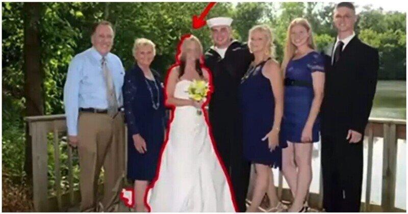 Как с помощью графического редактора удалить бывшую с семейной фотографии