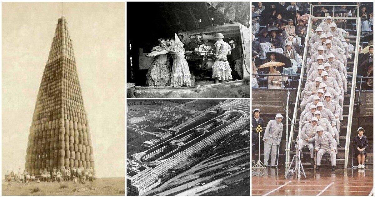 20 невероятных исторических фото, с не менее невероятными пояснениями