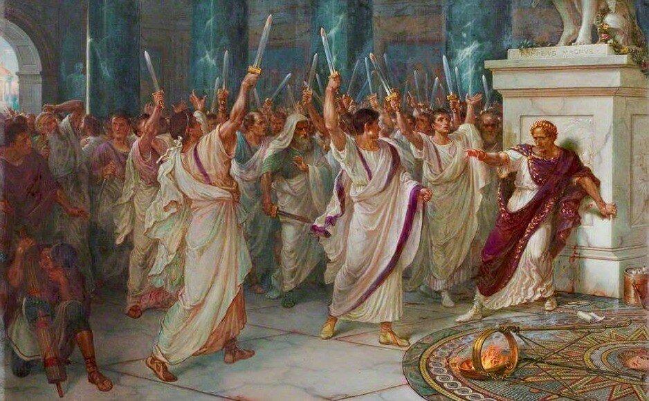 Что стало с теми сенаторами, которые убили Цезаря?