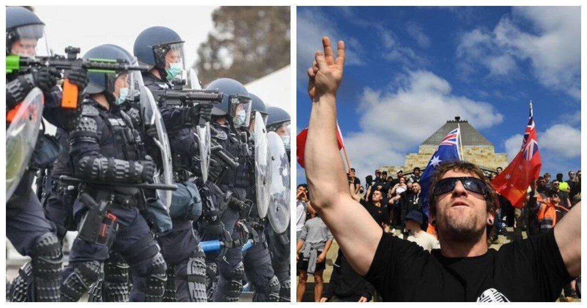 Холодная ярость полиции не остудила накал протестов в Мельбурне