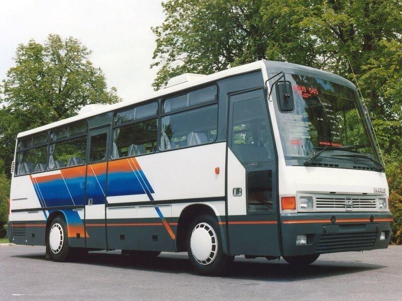 Икарус-ЗИЛ-545: неудачный проект советско-венгерского туристического автобуса