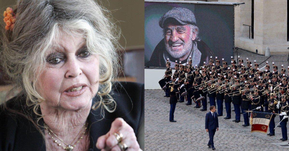 86-летняя Брижит Бардо раскритиковала похороны Бельмондо