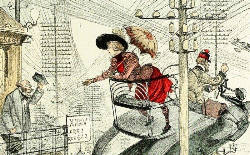 Писатель XIX века предсказал виртуальные свидания
