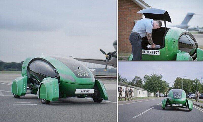 Британские ВВС тестируют беспилотные автомобили