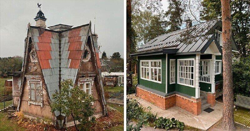 Старые деревянные дома и летние дачи: коллекция фотографа Федора Савинцева