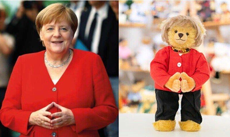Какой ми-ми-шка: и звать его Меркель